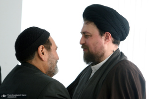 سید حسن خمینی و سید حسن فیروزآبادی