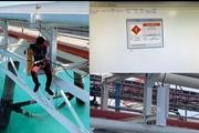دستگاه پایش آنلاین آلودگی در اسکله های نفتی بندر شهید رجایی نصب شد