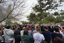 عکس/ مردم نیوزیلند نیز به معترضان آمریکا پیوستند