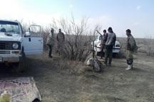 4 شکارچی متخلف در میاندوآب دستگیر شدند
