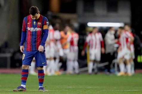 رکورد 6 ساله مسی در لیگ قهرمانان شکسته شد!