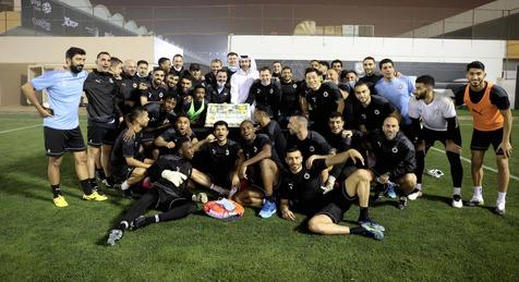 جشن سعودیها برای السد پیش از دیدار با فولاد+تصاویر