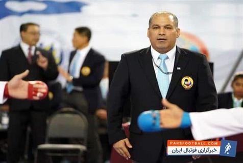 قضاوت داور ایرانی در رقابت های کاراته بازی های ساحلی جهانی