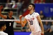 یلی امتیازآورترین بازیکن دیدار ایران و مکزیک