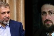السید حسن الخمینی یعزی بوفاة الامین العام السابق للجهاد الاسلامی