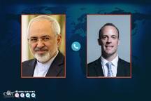 ظریف خطاب به وزیر خارجه انگلیس: تحریمها مانعی بر سر راه مبارزه با کروناست