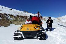 امدادرسانی نجاتگران اردبیل به ۸۱۰ مسافر در برف و کولاک