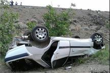 واژگونی خودرو در محور اصفهان - نطنز 2 کشته برجا گذاشت