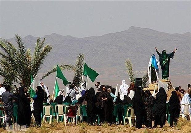 واقعه عاشورا در دهزیار کرمان بازسازی میشود