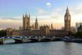 فیلمی از آتش سوزی در ساختمان پارلمان انگلیس