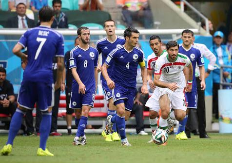 داور بازی ایران و بوسنی مشخص شد
