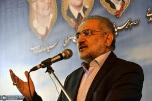 مراسم بزرگداشت شهدای هشتم شهریور - حسینی معاون پارلمانی