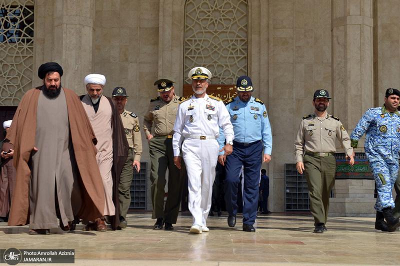 تجدید میثاق فرماندهان و کارکنان سازمان عقیدتی سیاسی آجا با آرمانهای حضرت امام(س)