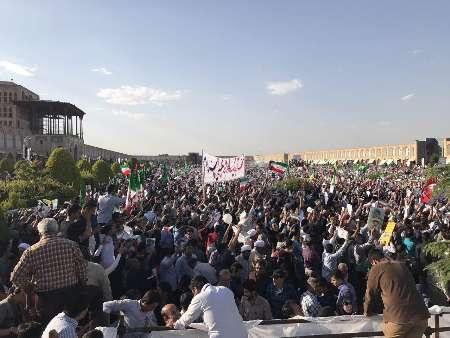 حاشیه های حضور رئیسی در اصفهان