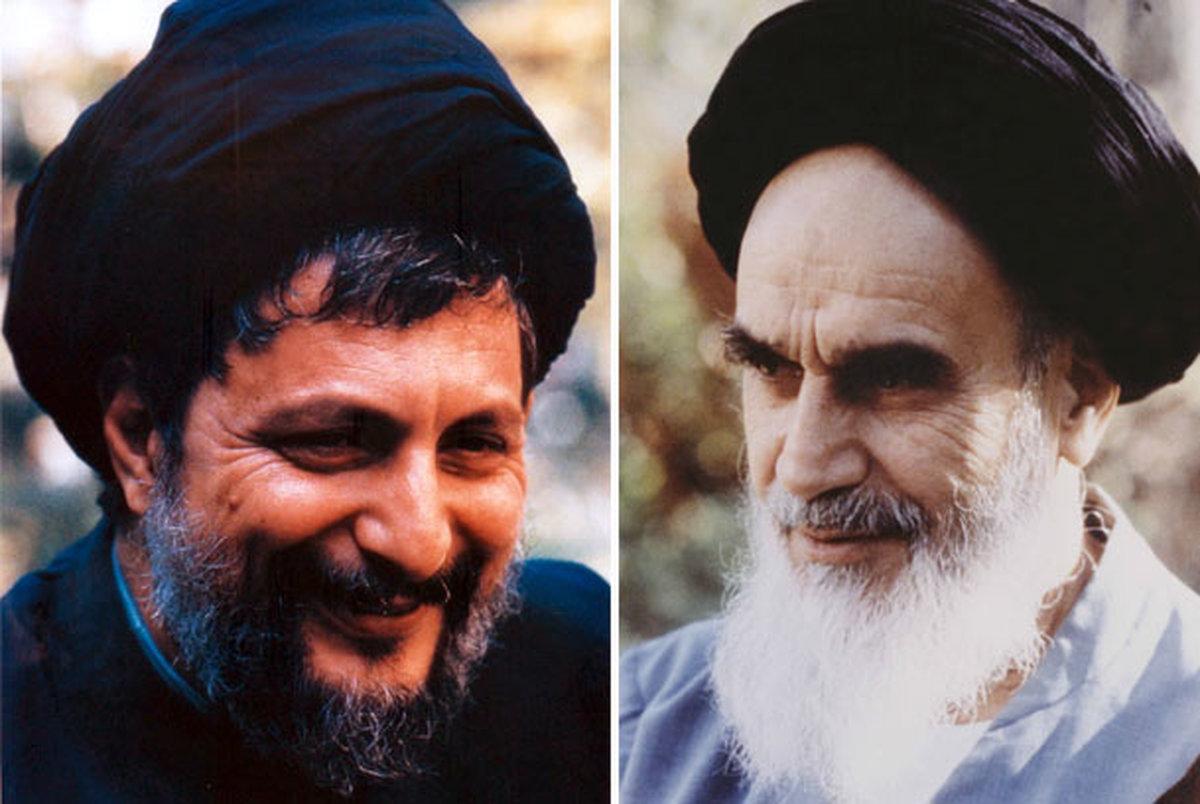 امام خمینی: آقای صدر را من بزرگ کردم ایشان را، من فضایلشان را می دانم