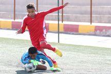 تیم فوتبال نونهالان اراک بر جزایر ساحلی بندرعباس غلبه کرد