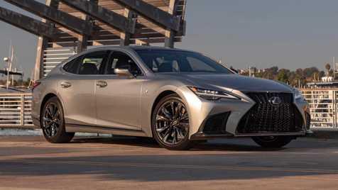 مشخصات فنی خودروی لکسوس LS  مدل 2021 + قیمت جدید و تصاویر