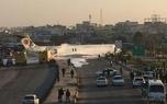خروج بوئینگ کاسپین از باند فرودگاه ماهشهر/حال همه مسافران خوب است + عکس و ویدیو