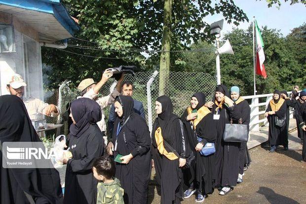 مهریزیها از سه هزار زائر خارجی اربعین پذیرایی کردند