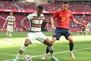 تساوی اسپانیا و پرتغال در شب ناکامی رونالدو و پیروزی پرگل ایتالیا