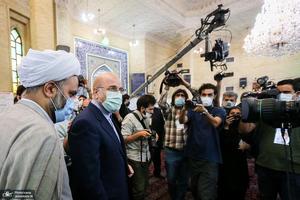 حضور رئیس مجلس شورای اسلامی در انتخابات 1400