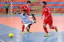 فوتسال لیگ برتر   توقف تیم ارژن شیراز در نخستین گام