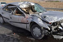تصادف در جاده کرج - چالوس ۶ مصدوم بر جای گذاشت