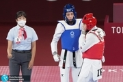 المپیک 2020  کیمیا علیزاده در آغوش سرمربی ایرانی اش!+عکس و ویدیو