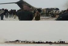 طالبان یک هواپیمای آمریکایی را در افغانستان سرنگون کرد/ ارتش آمریکا سقوط هواپیمای «E-۱۱» در افغانستان را تأیید کرد + عکس و فیلم