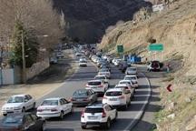 تردد در جاده های خراسان شمالی بیشتر شد
