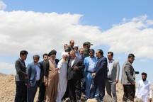 آبرسانی به 13 روستای درمیان در دست انجام است