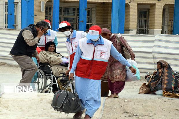 ۱۰۶۰ زائر پاکستانی اربعین در میرجاوه اسکان داده شدند