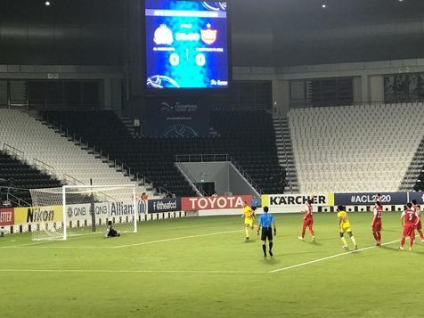 ویدیو/ گل اول النصر مقابل پرسپولیس از روی نقطه پنالتی
