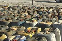 بیش از ۱۲۴ هزار لیتر سوخت قاچاق در سیستان و بلوچستان کشف شد