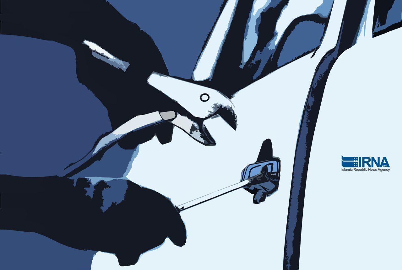 بیشترین آمار سرقت در سقز مربوط به قطعات خودرو و سیم برق است