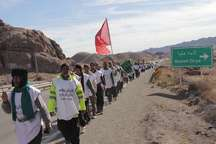 شمار زائران پیاده رضوی از 10 هزار نفر فراتر رفت