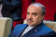 وزیر ورزش و جوانان وارد ورزشگاه خرمشهر شد