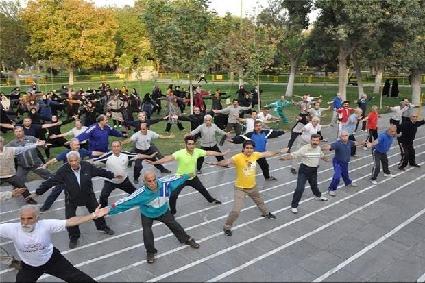 ورزش همگانی در اردبیل 300 درصد افزایش یافت