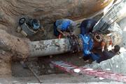 اصلاح شبکه فرسوده آب در سطح شهر  سی سخت ترمیم ۱۶۰ مورد شکستگی