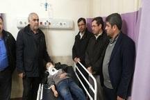 مصدومان حادثه سقوط سرویس دانش آموزی روستای فیروزیان از بیمارستان مرخص شدند