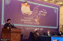 سید حسن خمینی: آوردن روح قانون به جامعه طوفان به پا می کند/ آموخته امام به ما این است که کار را برای خدا کنیم