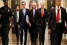 توافق کرونایی کاخ سفید و سنا بر سر کمک اقتصادی۲۰۰۰ میلیارد دلاری و مرگ یک نوجوان