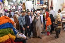 امام جمعه شیراز پای حرف دل کسبه بازار نشست
