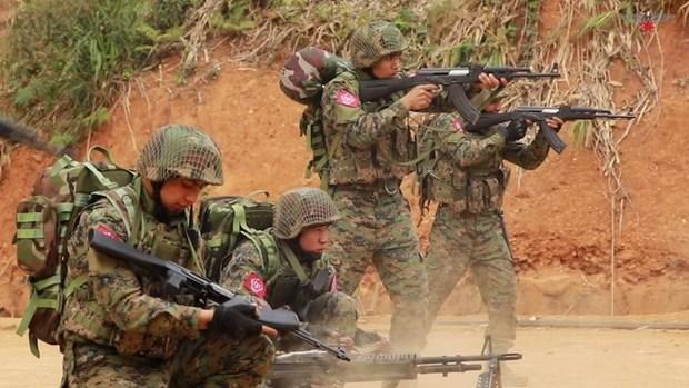 بمباران مدارس و روستاها و کشتار غیرنظامیان توسط کودتاچیان میانمار