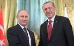 گفت و گوی تلفنی پوتین و اردوغان در مورد اوضاع شمال غرب سوریه