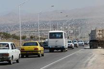 ترافیک نیمه سنگین آزادراه های قزوین در چهارمین روز نوروز