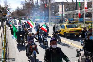 راهپیمایی 22 بهمن در خمین