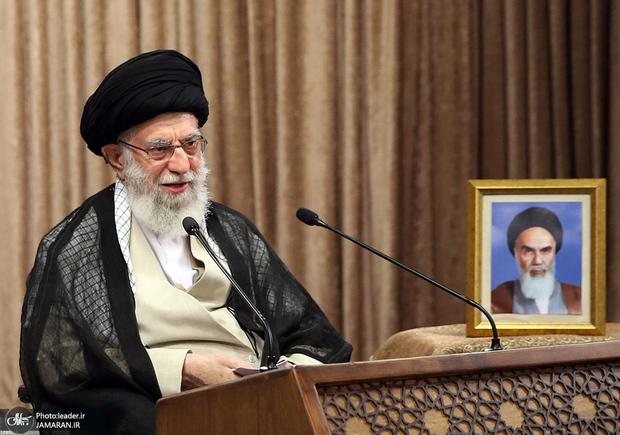 سخنرانی رهبر انقلاب در روز قدس