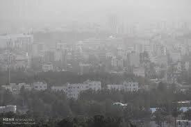 غلظت آلایندهها در البرز افزایش یافت