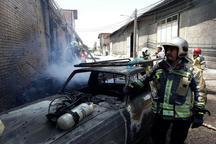 کارگاه مبل سازی مرتضی گرد تهران درآتش سوخت شد